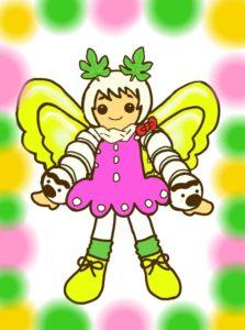 しるくマスコット:クワカイコの画像